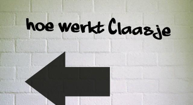 Hoe werkt Claasje